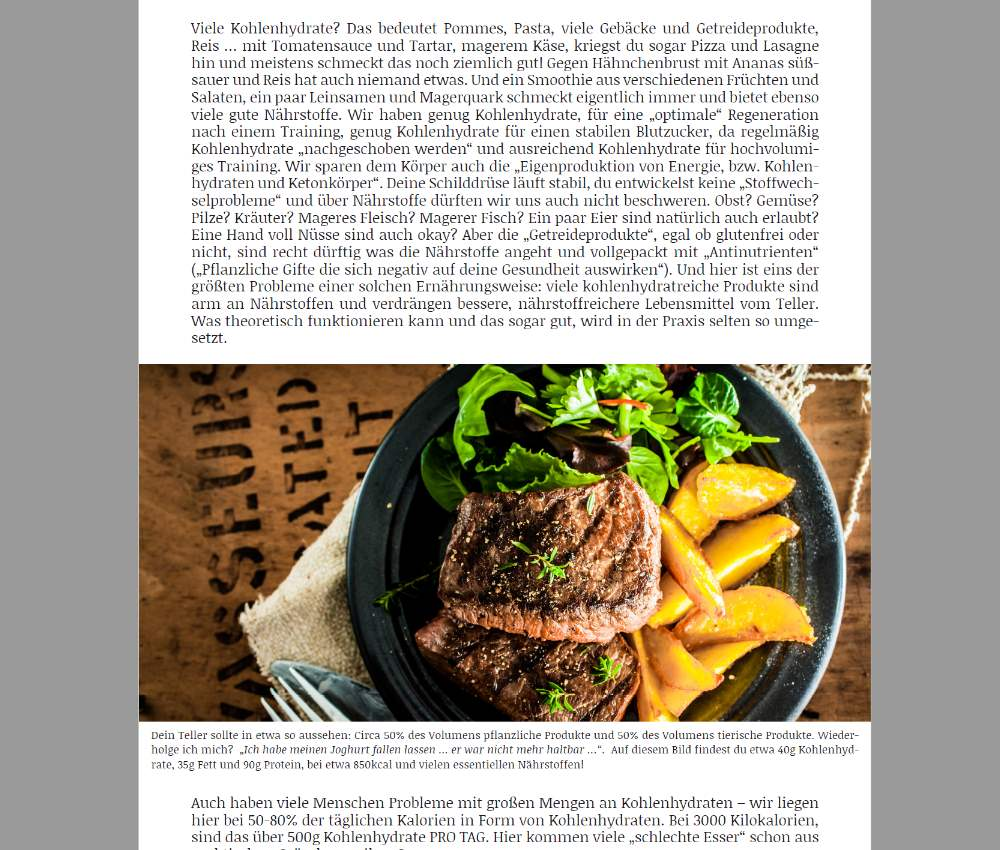 Artgerechte Ernährung EINFACH ESSEN 3