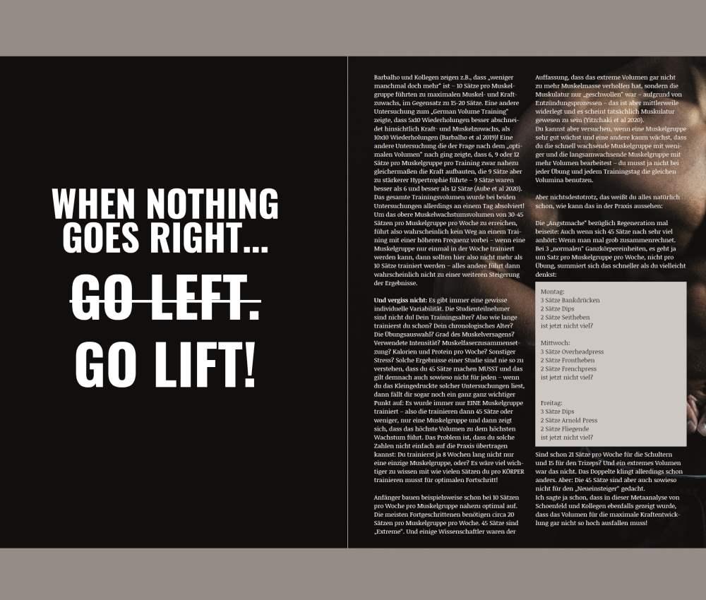 Muskelaufbau im Bodybuilding Chris Eikelmeier