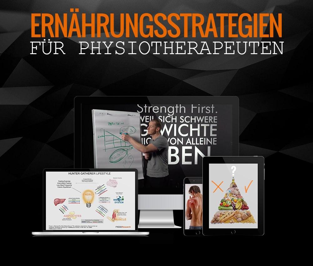 Ernährungsstrategien für Physiotherapeuten Ernährung für Physiotherapeuten